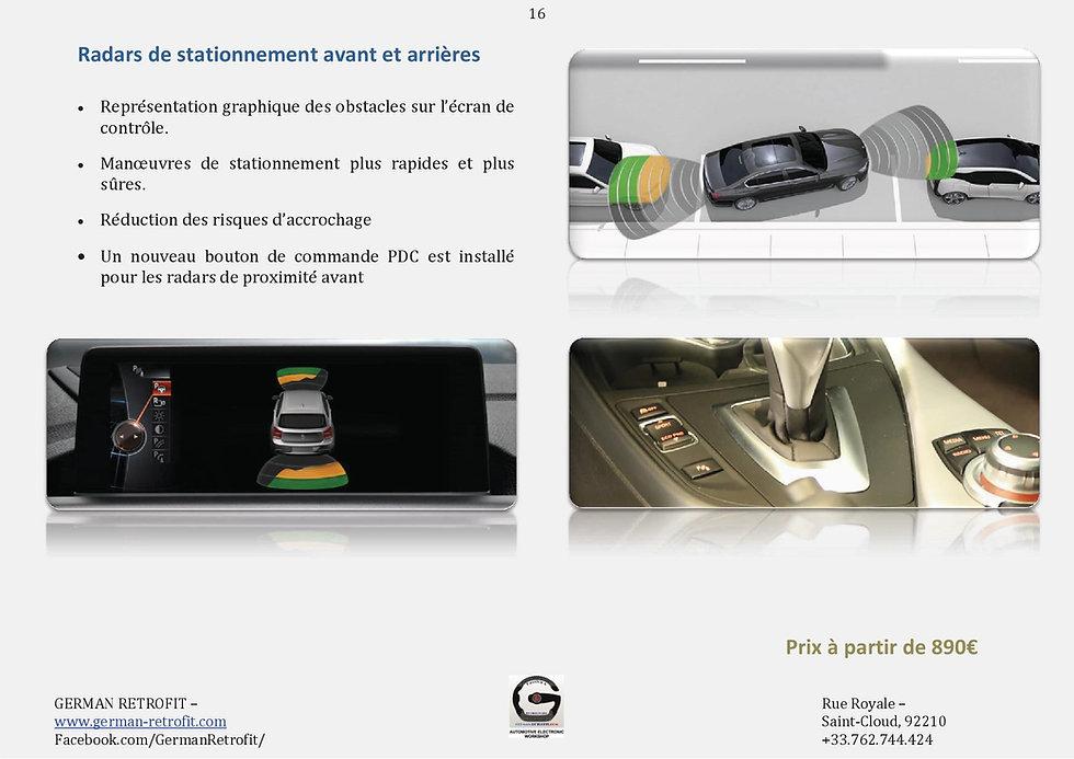 RADARS DE PROXIMITE AVANT ARRIERE BMW | PDC BMW | GERMAN RETROFIT