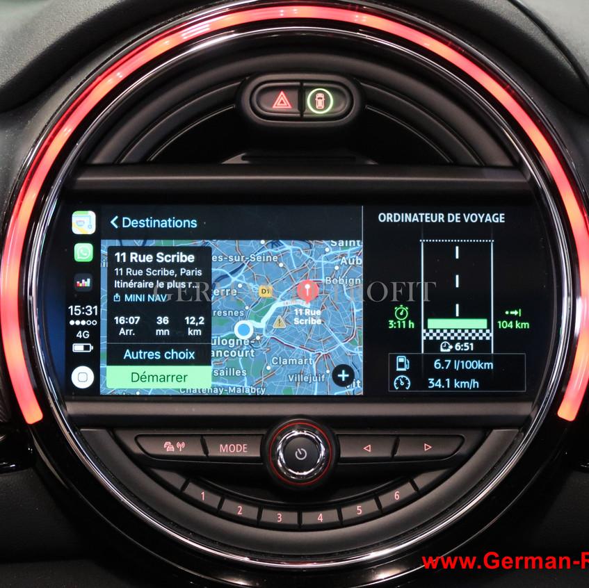 GPS Grand Ecran tactile MINI