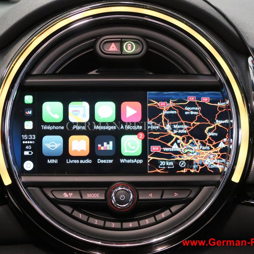 Ecran tactile MINI BMW Carplay GPS