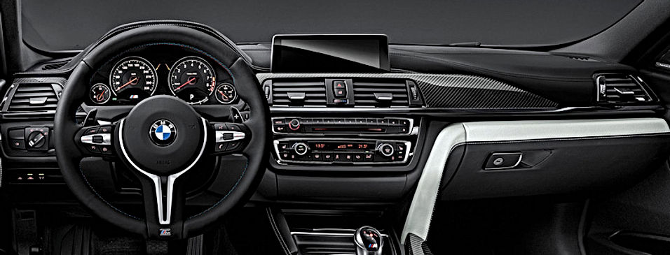 REMPLACEMENT VOLANT CUIR M PERFORMANCE PALETTES BMW   GERMAN RETROFIT