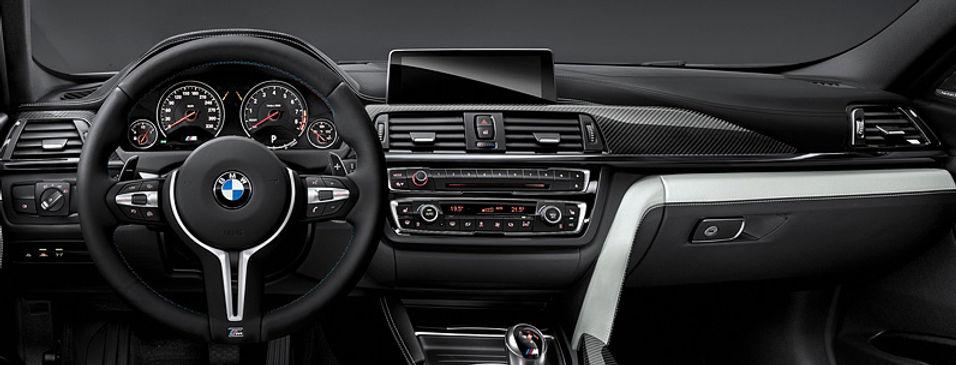 REMPLACEMENT VOLANT CUIR M PERFORMANCE PALETTES BMW | GERMAN RETROFIT