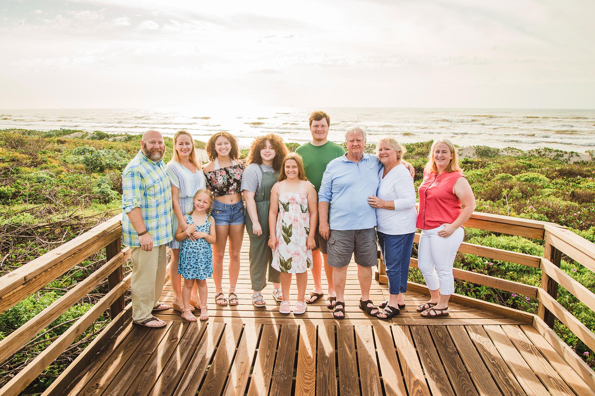 family photographer Mustang island