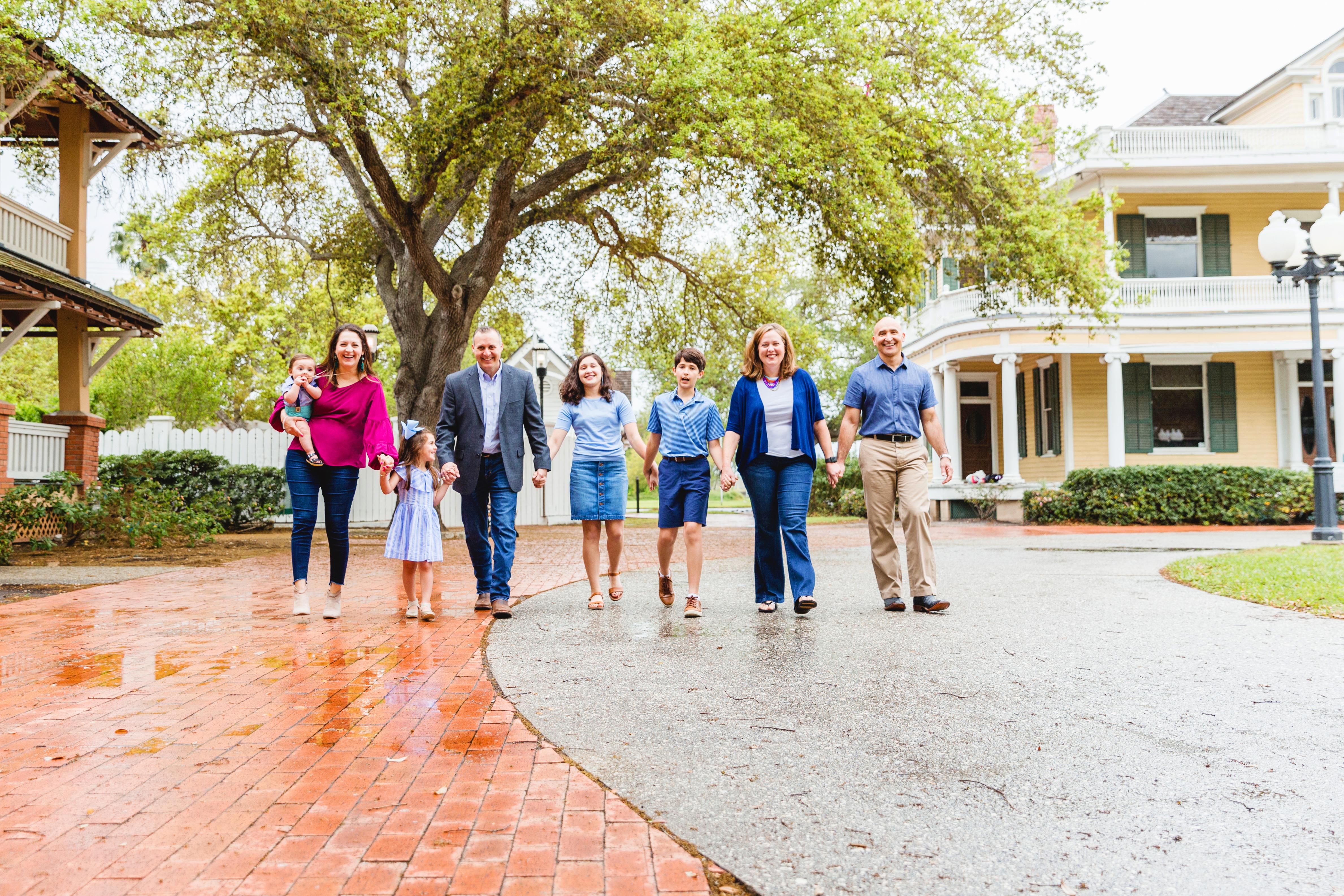 Corpus Christi family photography