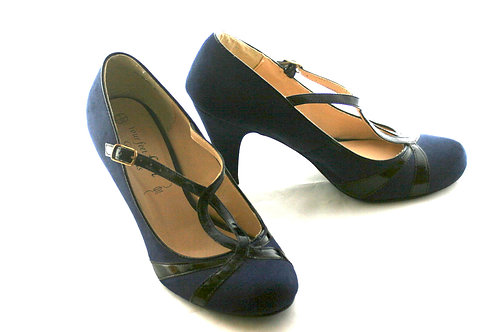 Size 5 Navy Shoes