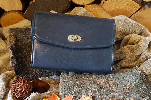 Navy Vintage Handbag