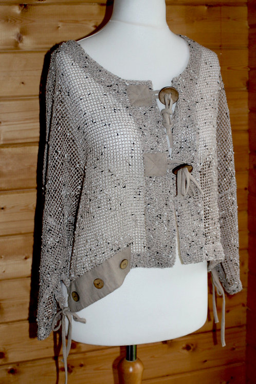One Size Mesh Cardigan