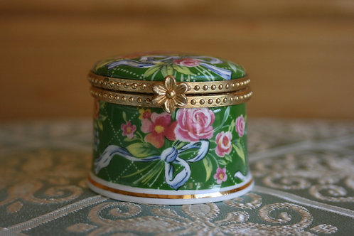 Fenton Bone China Trinket Box