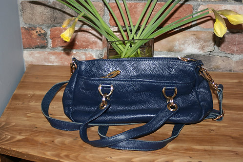 Vintage Blue Handbag