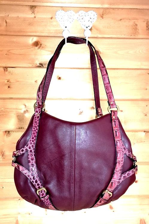 Burgandy Tote Bag