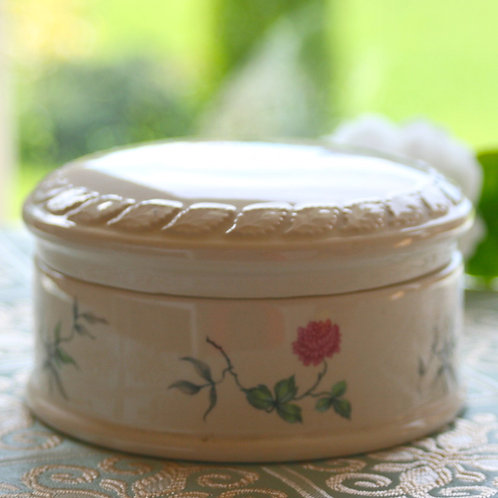 Vintage China Button Box
