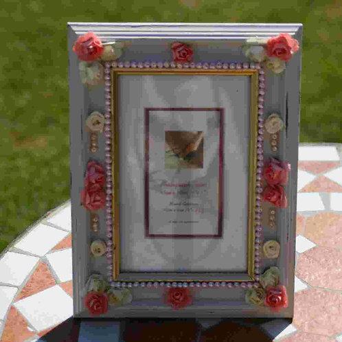 4 x 6 inch Embellished Frame