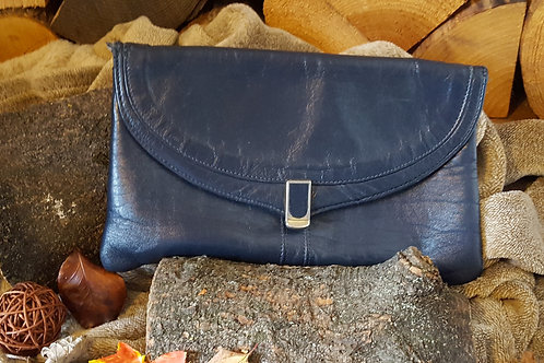 Vintage Navy Handbag