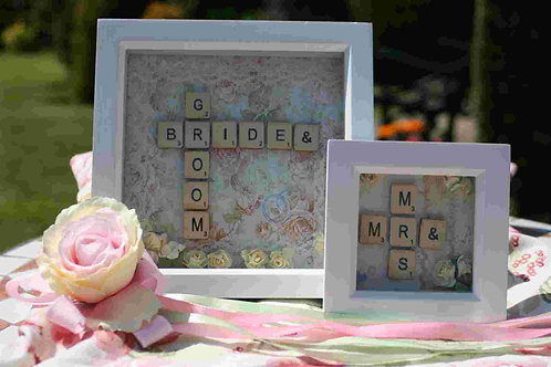 Made to Order Wedding Box Frames