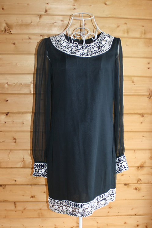 Size 10 Beaded Tunic Dress