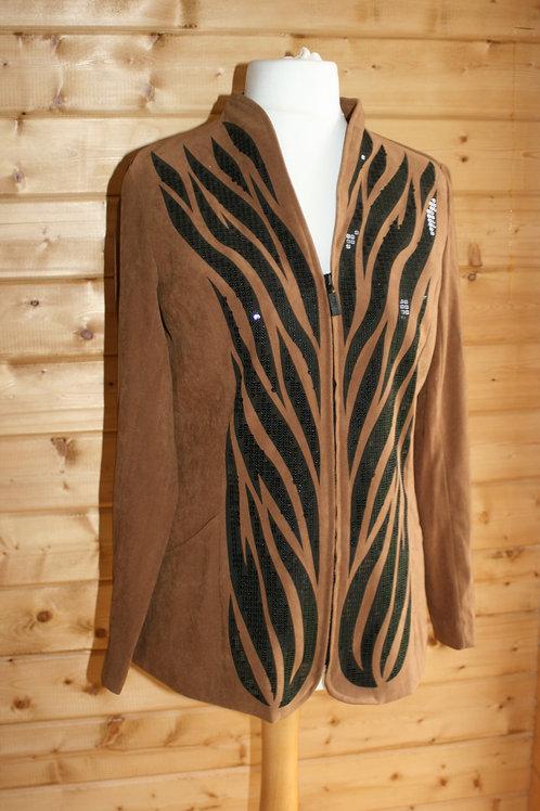 Size 8-10 Suede Jacket