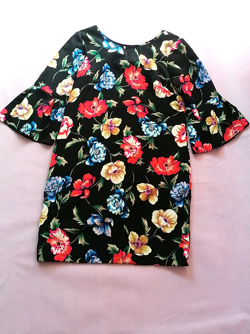 Size 6 Floral Tunic Dress