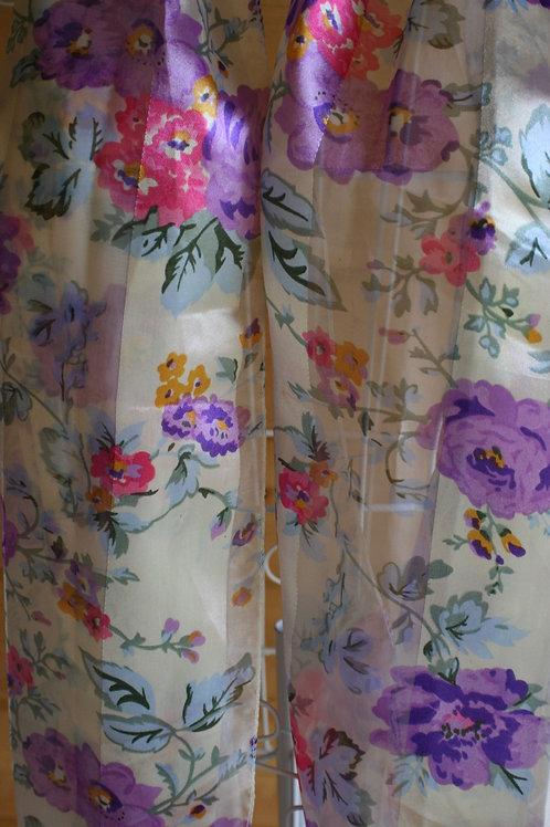 Summer Florals Vintage Scarf
