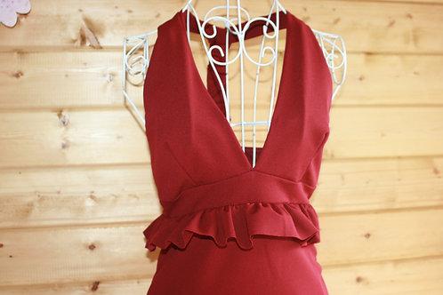 Size 8 Halter neck dress