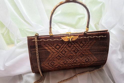 Vintage Woven Handbag