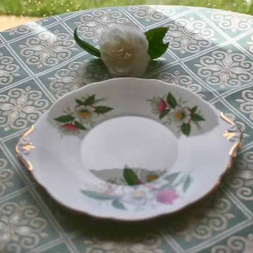Grosvenor Fine Bone China Cake Plate