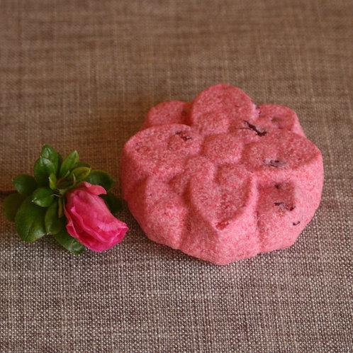 Homemade Rose & Peony Bath Bomb
