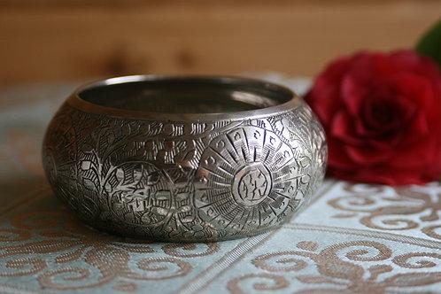 Vintage Boho Style Brass Bangle