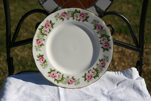 Rose Patterned Plate