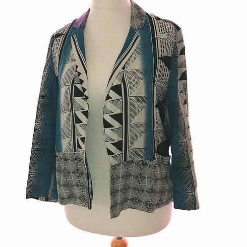 Size 10 Patterned Jacket
