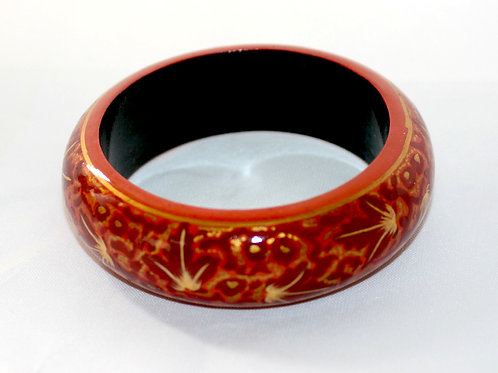 1980s wooden bangle