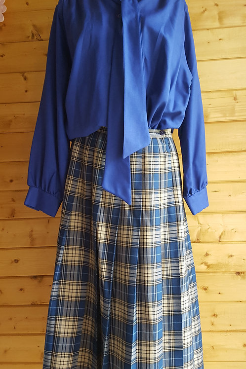 Size 14 Vintage Tartan Skirt
