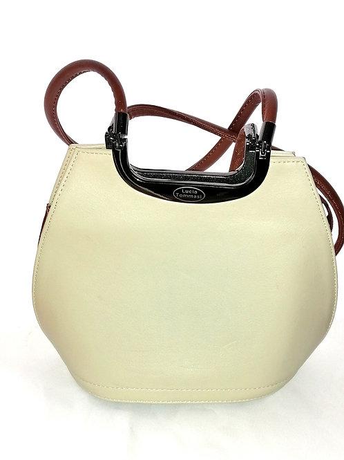 Cream Designer handbag