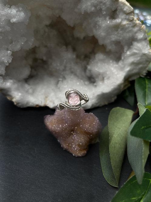 Morganite Ring, Size 9.5