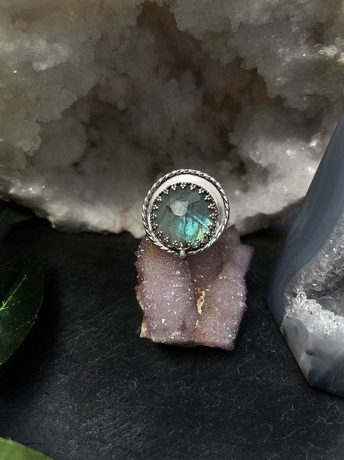 Labradorite Ring, Size 9.5