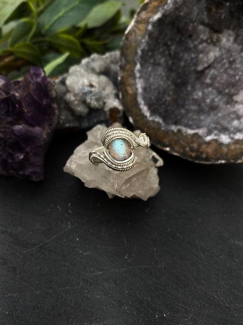 Labradorite Ring, Size 9