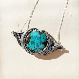 Sonoran Peak Turquoise Pendant