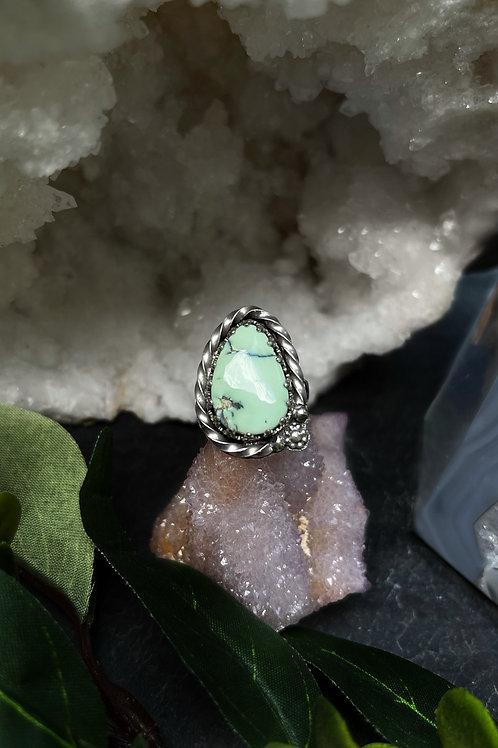 Prince Variscite Ring, Size 8.25