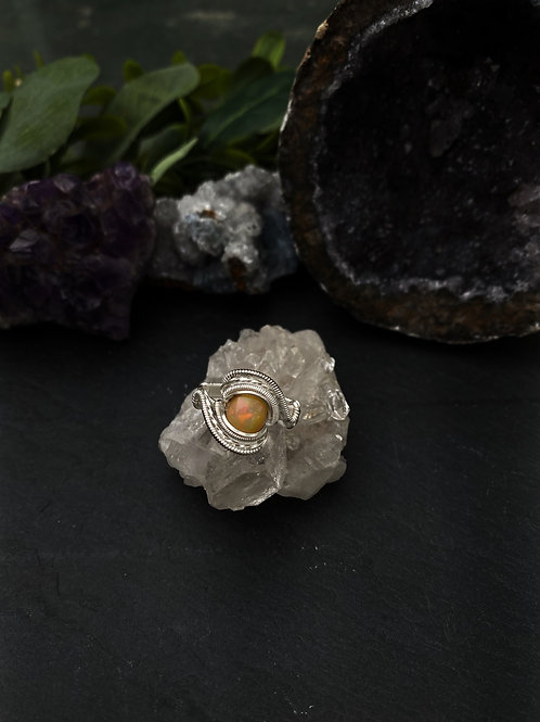 Natural Opal Ring, Size 6