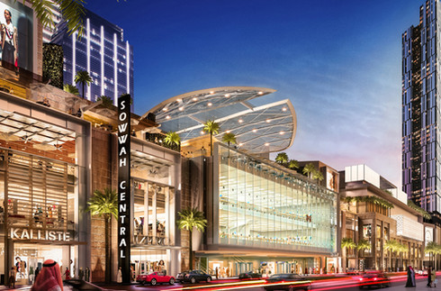 Ensuring one of the biggest malls in the world is environmentally sound