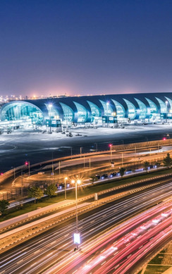 Illuminating the worlds largest airport