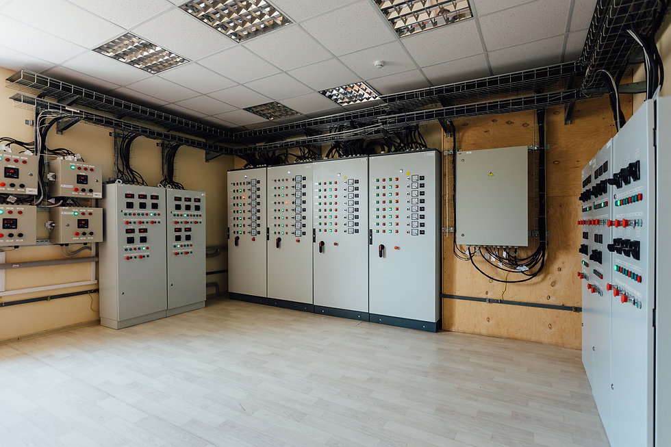 Electrical switch gear cabinets with con