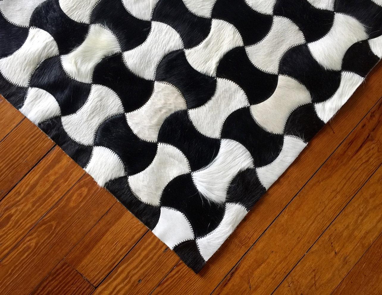 jocelyn cowhide rug