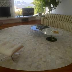 Monserrat hide rug