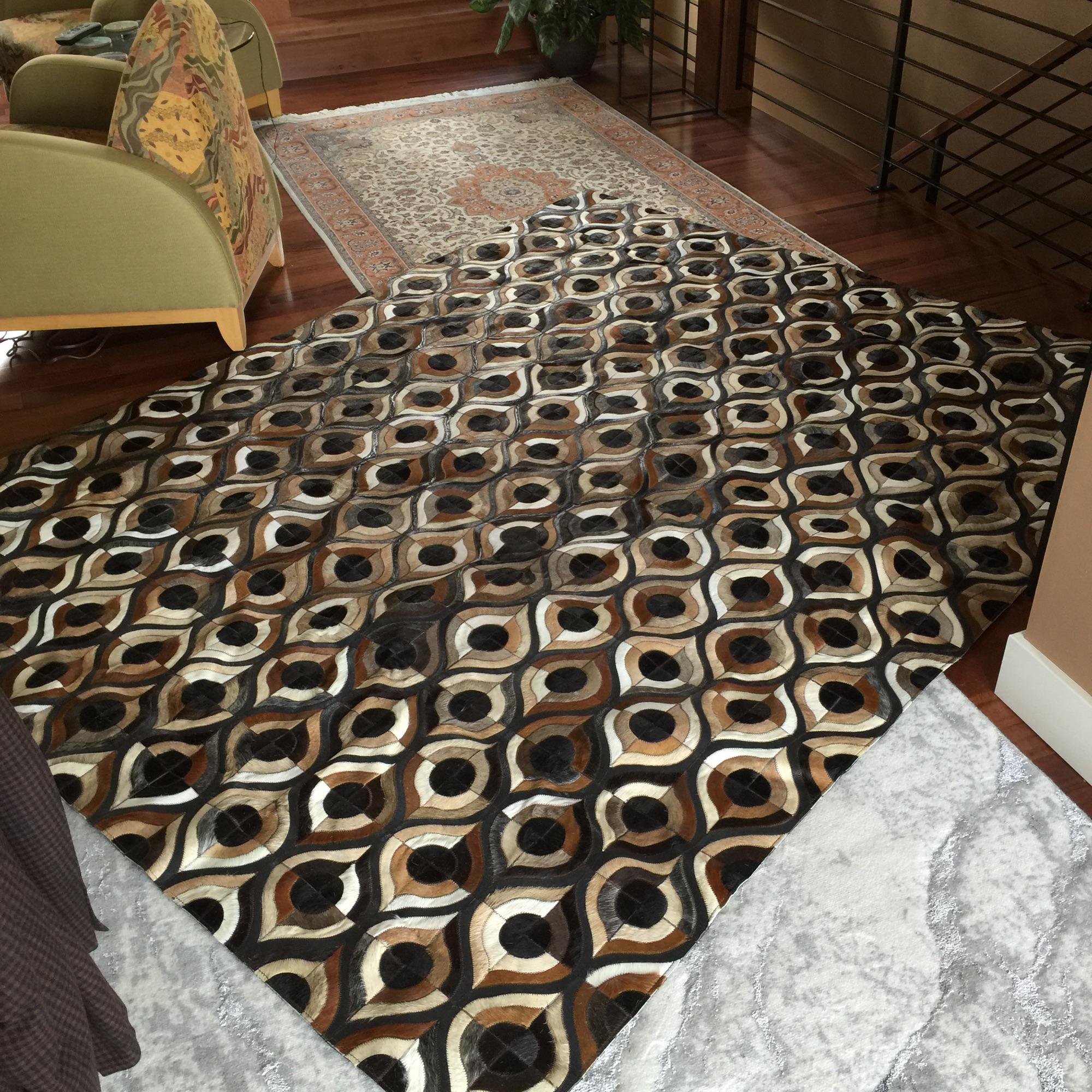 Pompeya cowhide rug