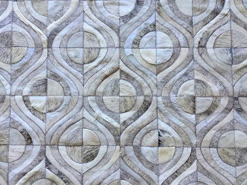 Pompeya hide rug