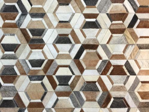 La Boca hide rug