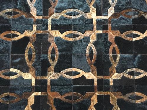 Tablada hide rug