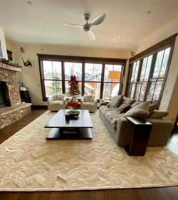 Barracas cowhide rug