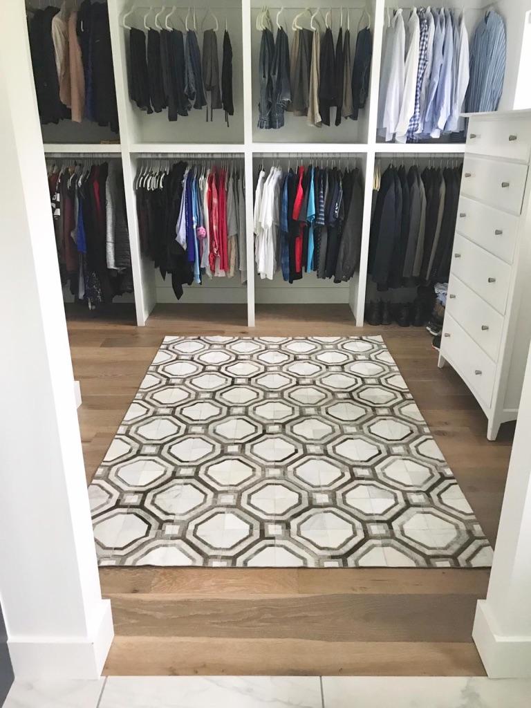 Casanova cowhide rug