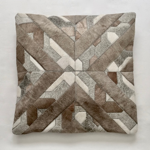 Cowhide pillow  22 x 22 inches