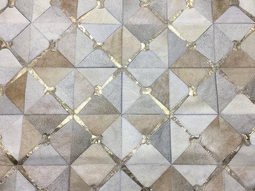 Canuelas cowhide rug